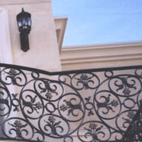 Newport Iron Balcony Railing 1