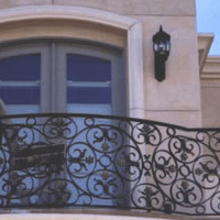 Newport Iron Balcony Railing 2